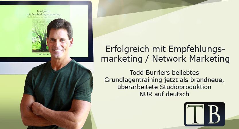 Empfehlungsmarketing und Network Marketing lernen