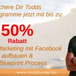 Für begrenzte Zeit: Todds Onlinetrainings mit bis zu 50% Rabatt