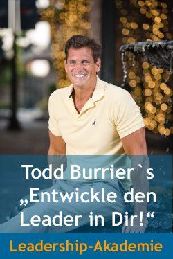 Todd Burrier Führen mit Herz Leadership Akademie